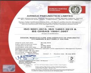 Bureau Veritas  Certificate